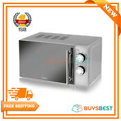 Tower 20l Manual Solo Microwave 800w With 5 Power Levels In Silver T24015s