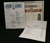 Maytag Gemini Electric Range User Guide Parts List Cooking Made Simple Cookbook