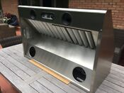 Thermador Ph42hqs 42 Stainless Wall Chimney Range Hood With Blower Motor