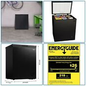 5 Cubic Foot Small Cabinet Freezer Business Office Condo House Deep Freeze Food