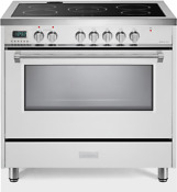 Verona Designer Vdfsee365w 36 Electric Range Oven Convection White