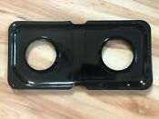 Ge 17 1 2 In X 8 1 2 In Porcelain Double Gas Range Drip Pan Pm49x7005ds
