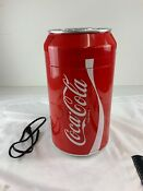 Portable Coca Cola Mini Can Fridge Electric Cooler 8 Cans