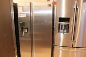 New Open Box Samsung 22 Cu Ft Counter Depth Side By Side Food Showcase Refrige