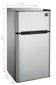 New 4 5 Cu Ft Mini Fridge Freezer Collage Dorm Office Compact Refrigerator Cool
