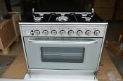 Used Machine 6 Burner Gas Stove Baking Oven Household Kitchen Cooking Equipment