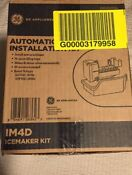 G E Im4d All Inclusive Ice Maker Kit W Ice Bucket Fill Tube Water Valve