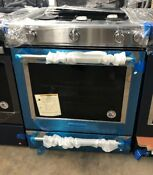Kitchenaid 30 5 Burner Slide In Gas Range With Convection Oven Stainless Steel