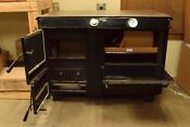 Ashland Deluxe Wood Coal Cook Stove With Reservoir