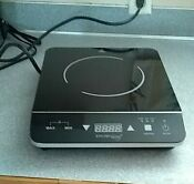 Kitchen Living Induction Cooktop Portable Stove Electric Digital