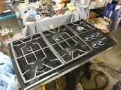 Thermador Natural Gas Cooktop Black