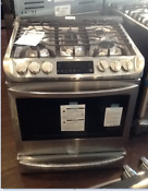 New Open Box Lg 30 Inch Slide In Gas Range With Convection Ultraheat Burner L