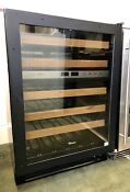 True Twc 24dz R Duel Zone Overlay Panel Ready Glass Right Hinged Wine Cooler