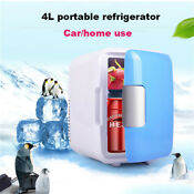 Hot Portable Home Car Fridge Travel Cooler Warmer Refrigerator Freezer 4l 12v