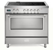 Verona Designer Vdfsee365ss 36 Electric Range Oven Convection Stainless Steel