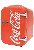 Coca Cola Vintage Chic 4l Cooler Warmer Mini Fridge