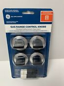 General Electric Ge Gas Range Control Knobs Vintage Rare