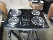 Jenn Air Jed8130adb Black Coil Downdraft Cooktop