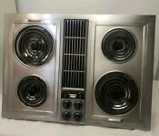 Jenn Air C221 Stainless Steel Downdraft Cooktop Stovetop Cartridge Electric