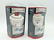 2 Pack Genuine Everydrop By Whirlpool Refrigerator Water Filter 7 Edr7d1