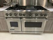 Viking Vgr7486gss 48 Inch Stainless Steel Freestanding Gas Range