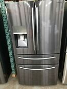 Samsung 4 Door French Door Refrigerator With Food Showcase Stainless Steel