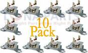 10 Pk Dryer Thermal Fuse Kit For Whirlpool Maytag Ap6009129 Wp40113801
