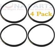 4 Pack Wh1x2026 For Ge Washer Washing Machine Drive Belt Ap2044592 Ps270803