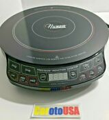 Nuwave Precision Induction Cookware 1300 Watts Model 30101 Black Cook Top