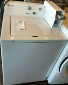 New Open Box Whirlpool 3 3 Cu Ft White Commercial Top Load Washing Machine Ca