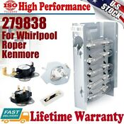 279838 Dryer Heating Element Fuse Kit 279816 3392519 For Whirlpool Roper Kenmore