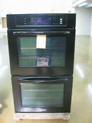 Kitchenaid Kebk206sbl 30 Black Electric Double Wall Oven Stk 055269