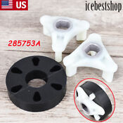 285753a Washer Motor Coupler W Metal Insert For Whirlpool Kenmore Roper Lp753a