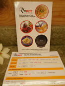 Nuwave Precision Induction Cooktop Replacement Manual Cookbook Quick Guide