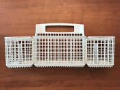 Whirlpool Dishwasher Silverware Basket Kenmore Kitchenaid Light Gray 3380781
