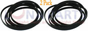 2 Pack Dryer Belt For W10198086 Whirlpool And Maytag Ap4369191 Ps2348726