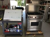 Wolf R304lp 30 Gas Range With Riser Shelf New Hood Excellent Condition