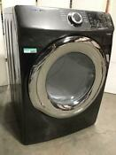 Samsung 7 5 Cu Ft Electric Dryer With Steam Black Stainless Awesome