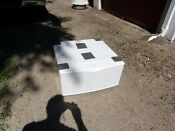 Samsung White Pedestal We357a8w For Washer Or Dryer With Hardware