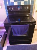 Whirlpool Electric Glass Top Full Range Stove