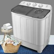 1 85 Cu Ft High Efficiency Portable Washer And Dryer Combo In Gray