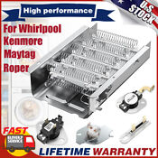 856558 Dryer Heating Element 279816 279816 For Whirlpool Roper Kenmore Maytag