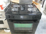 Jenn Air Jes9750 Downdraft Range Black With Coils Grill Unit And Griddle Incl