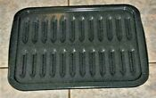 Broiler Broil Large Oven Pan Rack 2 Pieces Gray Speckled Mint 15 3 4 X 13