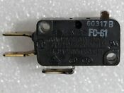 Whirlpool Microwave Oven Door Micro Switch Starion Szm V16 Fc 61