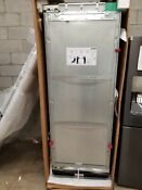 Miele 30 Inch Full Integrated All Refrigerator Column Panel Ready