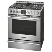 Frigidaire Professional Pcfg3078af 30 Front Control Gas Range With Air Fry
