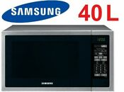 Samsung 40l 1000w Stainless Steel Microwave Oven Ceramic Interior Me6144st