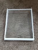 Kenmore Coldspot Refrigerator Parts Spill Proof Glass Shelf With Brackets