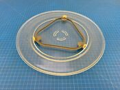 Genuine Kitchenaid Build In Oven Microwave Turntable Tray W10818723 15 3 4